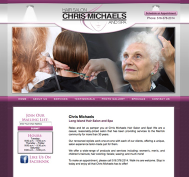 Chris Michaels Hair Salon and Spa